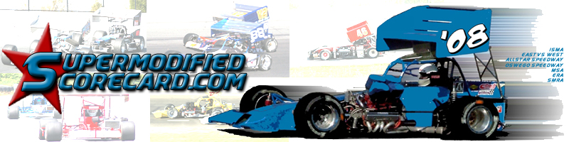 From Coast to Coast Supermodified Scorecard Has the Most!